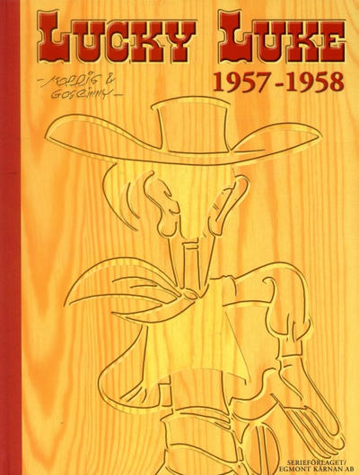 Cover for Lucky Luke: Den kompletta samlingen (Egmont, 2003 series) #1957-1958