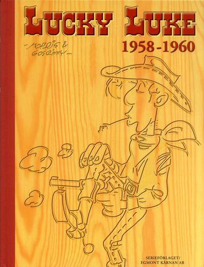 Cover for Lucky Luke: Den kompletta samlingen (Egmont, 2003 series) #1958-1960