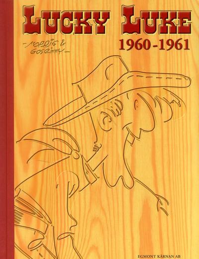 Cover for Lucky Luke: Den kompletta samlingen (Egmont, 2003 series) #1960-1961
