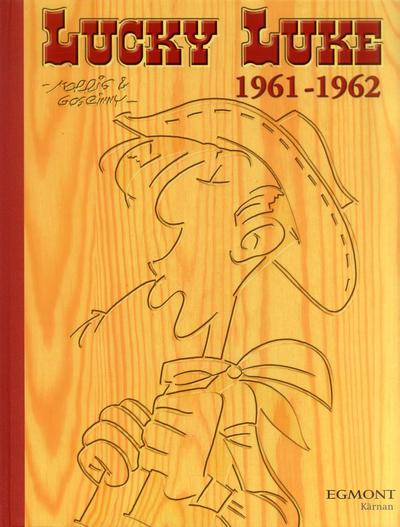 Cover for Lucky Luke: Den kompletta samlingen (Egmont, 2003 series) #1961-1962