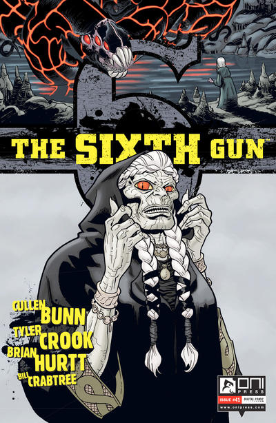 Cover for The Sixth Gun (Oni Press, 2010 series) #41