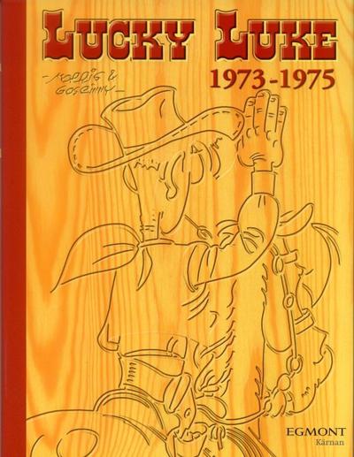Cover for Lucky Luke: Den kompletta samlingen (Egmont, 2003 series) #1973-1975