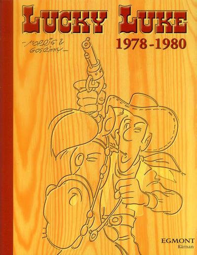 Cover for Lucky Luke: Den kompletta samlingen (Egmont, 2003 series) #1978-1980