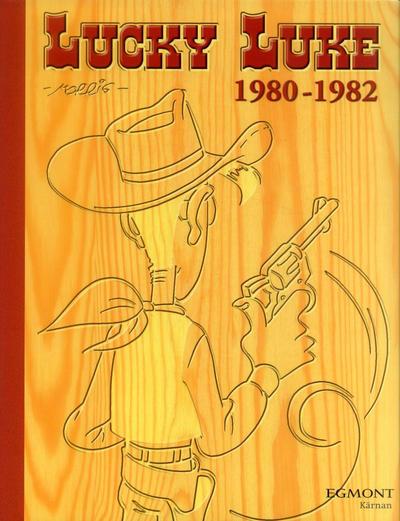 Cover for Lucky Luke: Den kompletta samlingen (Egmont, 2003 series) #1980-1982