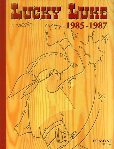 Cover for Lucky Luke: Den kompletta samlingen (Egmont, 2003 series) #1985-1987
