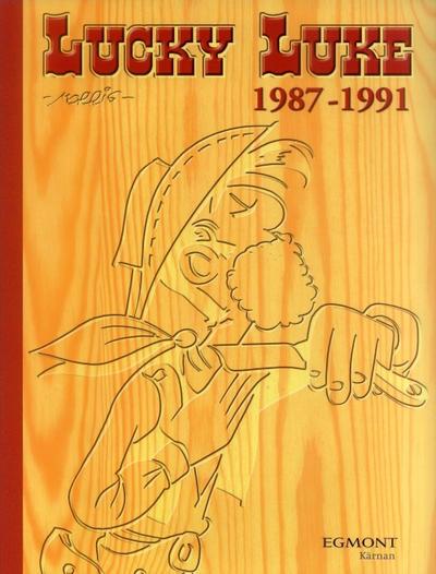 Cover for Lucky Luke: Den kompletta samlingen (Egmont, 2003 series) #1987-1991