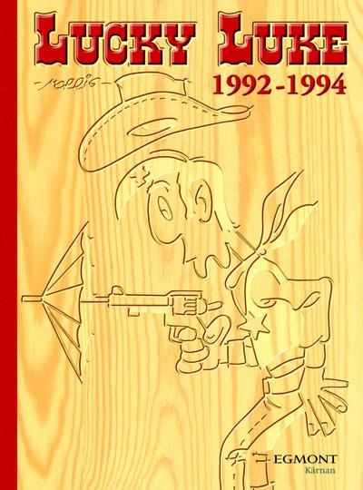 Cover for Lucky Luke: Den kompletta samlingen (Egmont, 2003 series) #1992-1994