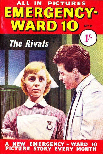 Cover for Emergency-Ward 10 (Pearson, 1959 series) #11