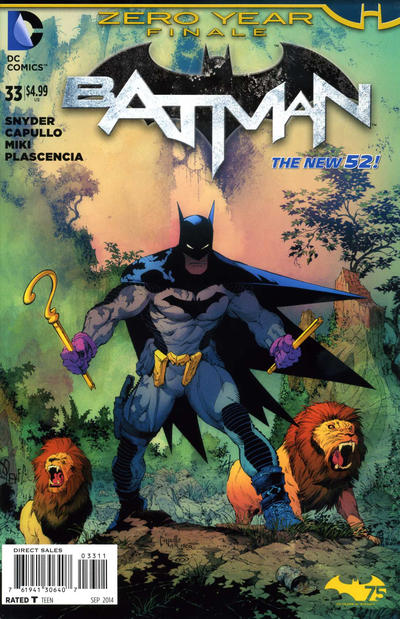 Cover for Batman (DC, 2011 series) #33 [Combo-Pack]