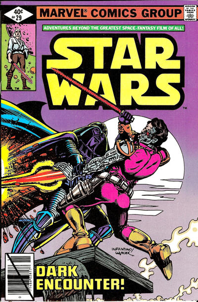 Cover for Star Wars (Marvel, 1977 series) #29 [Newsstand Edition]