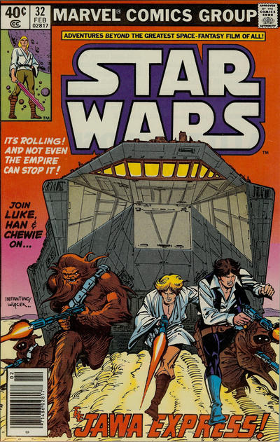 Cover for Star Wars (Marvel, 1977 series) #32 [Direct Edition]