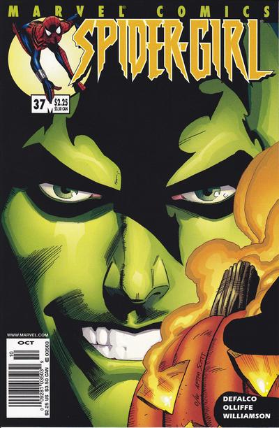 Cover for Spider-Girl (Marvel, 1998 series) #37
