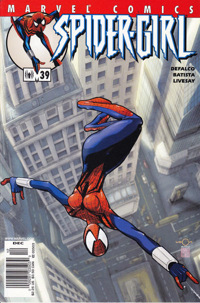 Cover for Spider-Girl (Marvel, 1998 series) #39