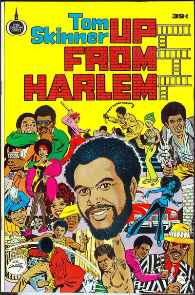 Cover for Up from Harlem (Fleming H. Revell Company, 1973 series)  [49-Cent Variant]