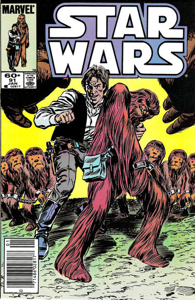 Cover for Star Wars (Marvel, 1977 series) #91 [Newsstand]