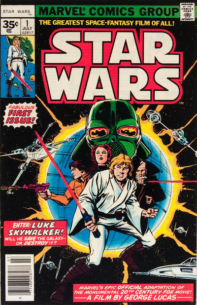 Cover for Star Wars (Marvel, 1977 series) #1 [30¢ Cover Price]