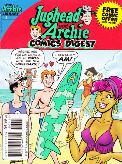 Cover for Jughead and Archie Double Digest (Archie, 2014 series) #4