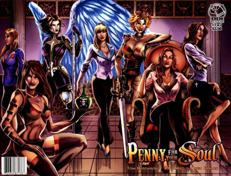 Cover for Penny for Your Soul (Big Dog Ink, 2010 series) #7 [Heroes Con Charlotte Variant]