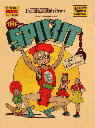 Cover for The Spirit (Register and Tribune Syndicate, 1940 series) #9/21/1941