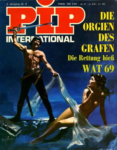 Cover for Pip (Verlags Presse Zürich, 1971 series) #v3#6