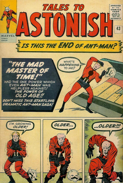 Cover for Tales to Astonish (Marvel, 1959 series) #43 [Regular Edition]