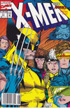 Cover for X-Men (Marvel, 1991 series) #11 [Newsstand Edition]