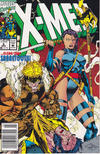 Cover for X-Men (Marvel, 1991 series) #6 [Newsstand Edition]