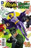 Cover for Batman '66 Meets Green Hornet (DC, 2014 series) #1