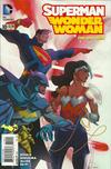 Cover Thumbnail for Superman / Wonder Woman (2013 series) #10 [Batman 75th Anniversary Cover]