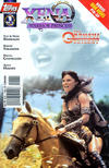 Cover for Xena: Warrior Princess: The Orpheus Trilogy (Topps, 1998 series) #1 [Photo cover of Xena riding a horse]