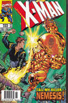Cover Thumbnail for X-Man (1995 series) #44 [Newsstand Edition]