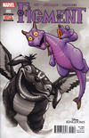 Cover for Disney Kingdoms: Figment (Marvel, 2014 series) #2 [2nd Printing]