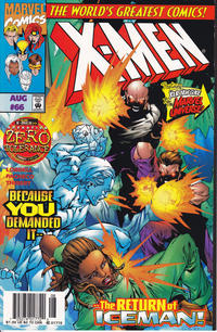 Cover Thumbnail for X-Men (Marvel, 1991 series) #66 [Newsstand Edition]