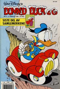 Cover Thumbnail for Donald Duck & Co (Hjemmet / Egmont, 1948 series) #6/1990