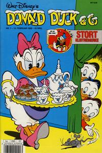 Cover Thumbnail for Donald Duck & Co (Hjemmet / Egmont, 1948 series) #7/1990