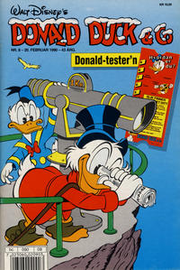 Cover Thumbnail for Donald Duck & Co (Hjemmet / Egmont, 1948 series) #8/1990