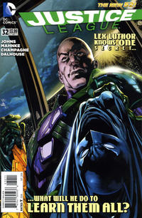 Cover Thumbnail for Justice League (DC, 2011 series) #32