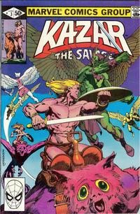 Cover Thumbnail for Ka-Zar the Savage (Marvel, 1981 series) #3 [Direct]