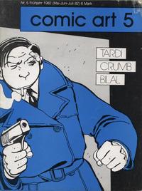 Cover Thumbnail for Comic Art (Tobias Meinecke, 1980 series) #5