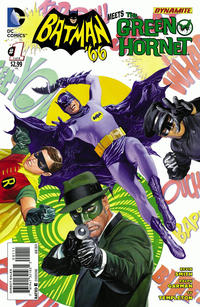 Cover Thumbnail for Batman '66 Meets the Green Hornet (DC, 2014 series) #1