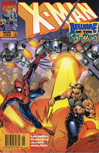 Cover for X-Man (Marvel, 1995 series) #38 [Direct Edition]
