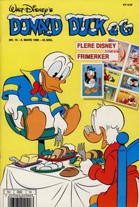 Cover Thumbnail for Donald Duck & Co (Hjemmet / Egmont, 1948 series) #10/1990