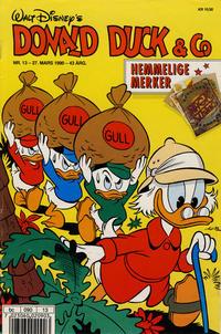 Cover Thumbnail for Donald Duck & Co (Hjemmet / Egmont, 1948 series) #13/1990