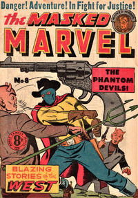 Cover Thumbnail for The Masked Marvel (Atlas, 1953 ? series) #8