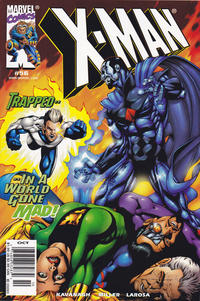 Cover for X-Man (Marvel, 1995 series) #56 [Direct Edition]