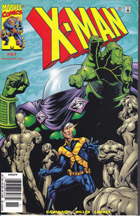 Cover for X-Man (Marvel, 1995 series) #57 [Direct Edition]