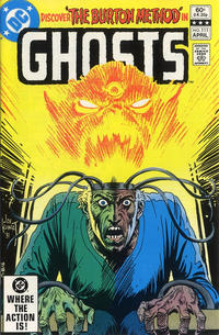Cover Thumbnail for Ghosts (DC, 1971 series) #111 [Direct]