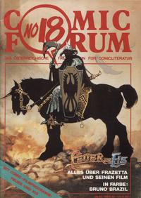 Cover Thumbnail for Comic Forum (Comicothek, 1979 series) #18