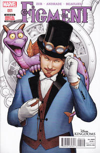 Cover Thumbnail for Disney Kingdoms: Figment (Marvel, 2014 series) #1 [Second Printing]