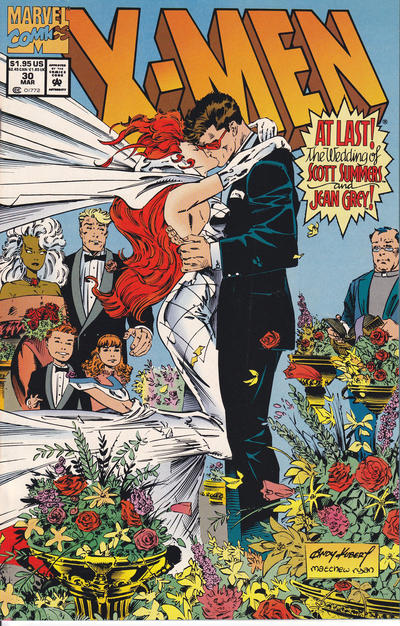 Cover for X-Men (Marvel, 1991 series) #30
